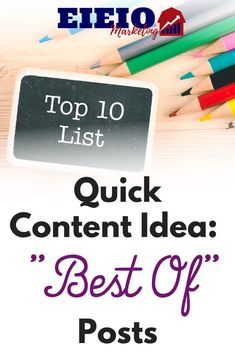 """The idea is simple: Write a """"best of"""" blog post that links to older/related posts.  It's a great way to share older content, create a helpful resource readers may bookmark/share, and it's quick and easy to put together.  What do you think about this idea? Facebook Marketing Strategy, Online Marketing, Make Money Blogging, How To Make Money, Work On Yourself, Finding Yourself, Related Post, About Facebook, If I Stay"""