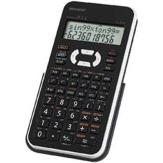 Sharp Sci Calc w 390 Function: Sharp Electronics is a scientific calculator with 2 line LCD display, displaying 12 characters. Electronic Dictionary, Science Student, Printer Scanner, Calculus, Calculator, Engineering, Electronics, Products, College Students