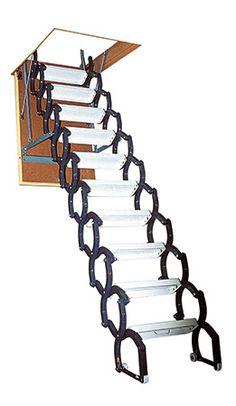 11 meilleures images du tableau escaliers escamotables Escalier grenier escamotable amenagee