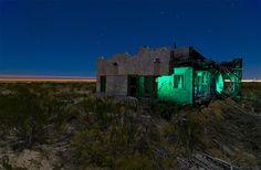 Light Painting - Light Art - Noel Kerns - Slipping Away - Contea di Reeves, Texas, USA - 18/01/2008