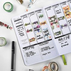 #PLANNERHACK! ✨ - One way to use washi tape is to add color to your Passion Planner! ❤ We love using washi tape to block off chunks of our time in our weekly layouts. - How do you like to use washi tape in your Passion Planner? - #passionplanner #washitape #plannercommunity #plannertip #pashfam #washitapeaddict