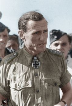 Lieutenant-General Günther Rall (10 March 1918 – 4 October 2009) 3rd most successful fighter ace in history. He achieved a total of 275 victories during World War II. Knight's Cross on 3 September 1942 as Oberleutnant and Staffelkapitän of the 8./Jagdgeschwader; 134th Oak Leaves on 26 October 1942 as Oberleutnant and Staffelkapitän of the 8./Jagdgeschwader; 34th Swords on 12 September 1943 as Hauptmann and Gruppenkommandeur in the III./Jagdgeschwader 52