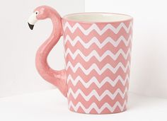 A flamingo mug to toast your upcoming baecation. | 26 Gifts From Missguided You'll Want To Keep For Yourself