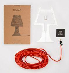 Coil lamp DIY kit