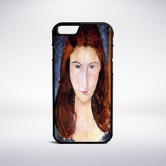 Amedeo Modigliani - Jeanne Hebuterne Phone Case – Muse Phone Cases