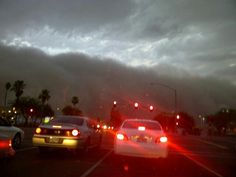 Bad monsoon coming over Mesa in 2010/2011