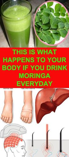 This is what happens to your body if you drink moringa everyday