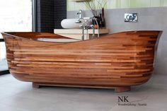 Wood Bath Tub//NK Wood Working