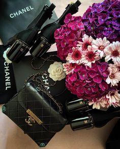 Chanel CC Metal Flap Bag