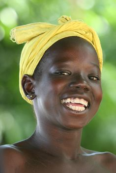 """A kind of magic ...."" The most wonderful smile in Ségoukoro,Mali by Ferdinand Reus, via Flickr"