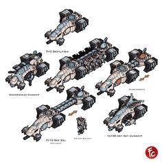 Tau vehicles by LordCarmi on DeviantArt Warhammer 40k Art, Warhammer Models, Warhammer 40k Miniatures, Empire Tau, Tau Army, Fire Warrior, Star Wars Spaceships, Star Trek Enterprise, Greater Good