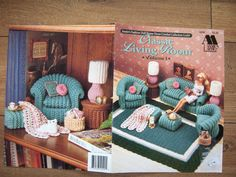 Vintage 1992 Crochet pattern Fashion Doll by GransTreasures, $10.00