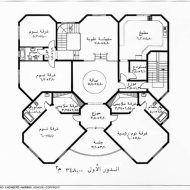 خرائط بيوت حديثة Model House Plan Family House Plans Floor Plan Design