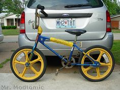 80s yellow bmx | ....REALLY Old School BMX. Never Thought I'd Find A 1980 Mongoose BMX ...