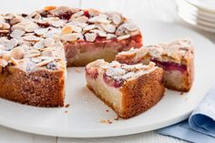 This decadent cake is suitable for those of us who need to avoid dairy or gluten.