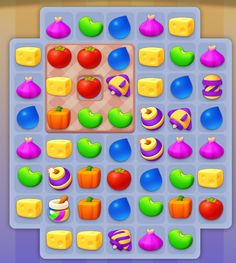 Game 2d, Match 3 Games, Game Ui Design, Game Icon, Puzzle, Popup, Casual, Projects, Candy