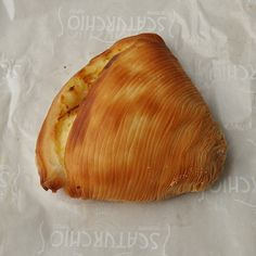 Sfogliatelle - Pastries in Naples Italy - more pastry photos & info about them in the post