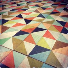 wood floor tiles | Mirth Studios