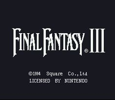 Or to be technically correct, Final Fantasy VI, is arguably the best FF game ever made. It's a must play if you haven't already done so, and if you have, play it again!