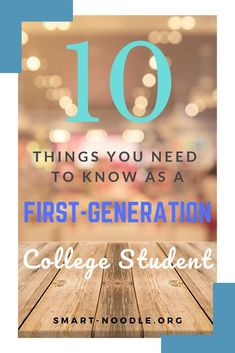 First-generation college students are more likely to face many barriers in pursuing their college degree. Here are my top 10 tips for first-generation college students. Scholarships For College, College Students, College Life Hacks, College Tips, Freshman Advice, College Motivation, Going Back To College, College Search, Top Colleges