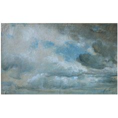 Study of Clouds, John Constable, 1822. Victoria & Albert Museum. Given by Isabel Constable