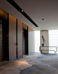 Jonathan h adlı kullanıcının hotel panosundaki pin asansör, Flur Design, Hall Design, Design Design, Lobby Interior, Interior Architecture, Interior Design, Commercial Design, Commercial Interiors, Hotel Interiors