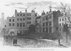 Old Scotland Yard - headquarters of the Metropolitan Police until 1890.