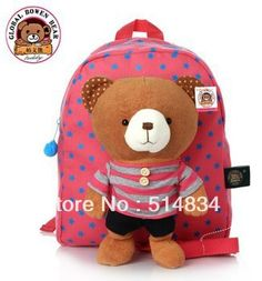 b163073d3aa4 Aliexpress.com : Buy high quality kindergarten school bag for kid,brand cute  backpack, designer canvas cartoon child bags,free shipping,dropship from ...