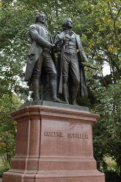 Goethe Schiller Monument in San Francisco