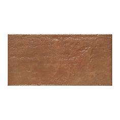 Piastrella Castelli Spezzano 15 x 30 rosso, rame