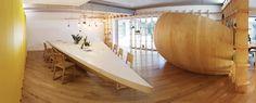 Bucharest office, navigating, wood, Atelier Ciprian Manda