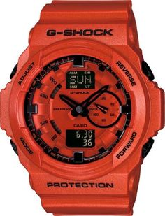 Shop men's and women's digital watches from G-SHOCK. G-SHOCK blends bold style with the most durable digital and analog-digital watches in the industry. Casio G-shock, Casio Watch, Stylish Watches, Cool Watches, Watches For Men, Wrist Watches, Men's Watches, Luxury Watches, Casio G Shock Watches