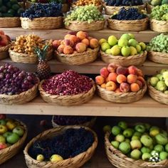 A variety of fruits By Lebanese Cuisine, Lebanese Recipes, Beirut, Serving Bowls, Food And Drink, Vegetables, Eat, Middle East, Beautiful Things