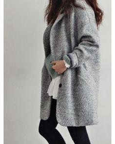 Coat and jumper