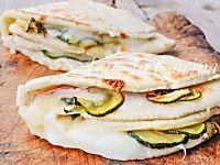 Piadina con zucchine stracchino e prosciutto | Arte in Cucina