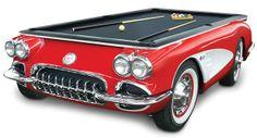 Mesa-Sinuca-1959-Corvette-Billiards-Table