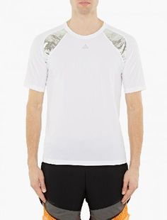Adidas by Kolor White Climachill T-Shirt The adidas x Kolor Climachill T-Shirt for AW16, seen here in white. - - - As part of the second collection from adidas and Juniche Abe of Kolor, this t-shirt is crafted using adidas™ innovative Climac http://www.MightGet.com/january-2017-13/adidas-by-kolor-white-climachill-t-shirt.asp