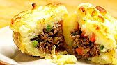 Shepherd's Pie Potato Skins -