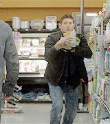 Baby Daddy Dean - jokes on him it's a shifter baby. Supernatural Finale, Supernatural Destiel, Winchester Brothers, Dean Winchester, Daneel Ackles, Jensen Ackles, Dear Sister, Superwholock, Nerd