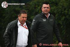 Boullier era de los que no quería que Alonso fuese a la Indy  #F1 #Formula1 #BahrainGP
