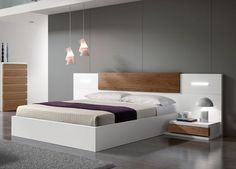 Go Modern Ltd > Storage Beds > Kenjo Storage Bed - Storage Beds, Contemporary Beds & Bedroom Furniture Bedroom Bed Design, Design Living Room, Bedroom Furniture Design, Bed Furniture, Furniture Layout, Antique Furniture, Furniture Ideas, Furniture Storage, Furniture Online