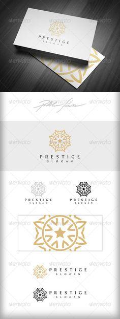 Ornate Symbol Logo - Interlocking Circles Logo