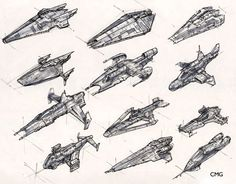 Cartoon Tutorials for Creating Spaceships Concept