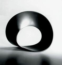Gijs Bakker Circle bracelet / Cirkel armband (74) 1967 aluminium (also executed in black, blue, green and grey anodised aluminium)