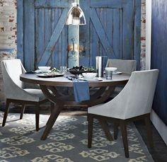 Everything! West Elm table/chairs.