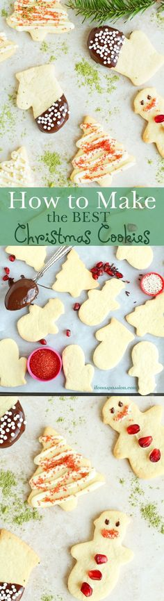 Easy Tutorial on How to make the Best Christmas Sugar Cookies by http://ilonaspassion.com @Ilonaspassion