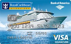 Review of the Royal Caribbean Visa Signature Card from Bank of America. This credit card earns rewards for every dollar spent, and can be redeemed for vacation expenses.