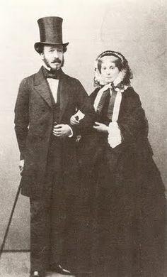 Duc et Duchesse de Morny 1863