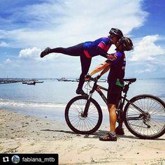 """154 Likes, 2 Comments - Pedal Livre (@pedallivrefotos) on Instagram: """"#Repost @fabiana_mtb with @repostapp ・・・ Que não falta beijo em nossas vidas....."""""""