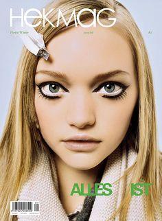 Gemma Ward #model #fashion #makeup #lashes